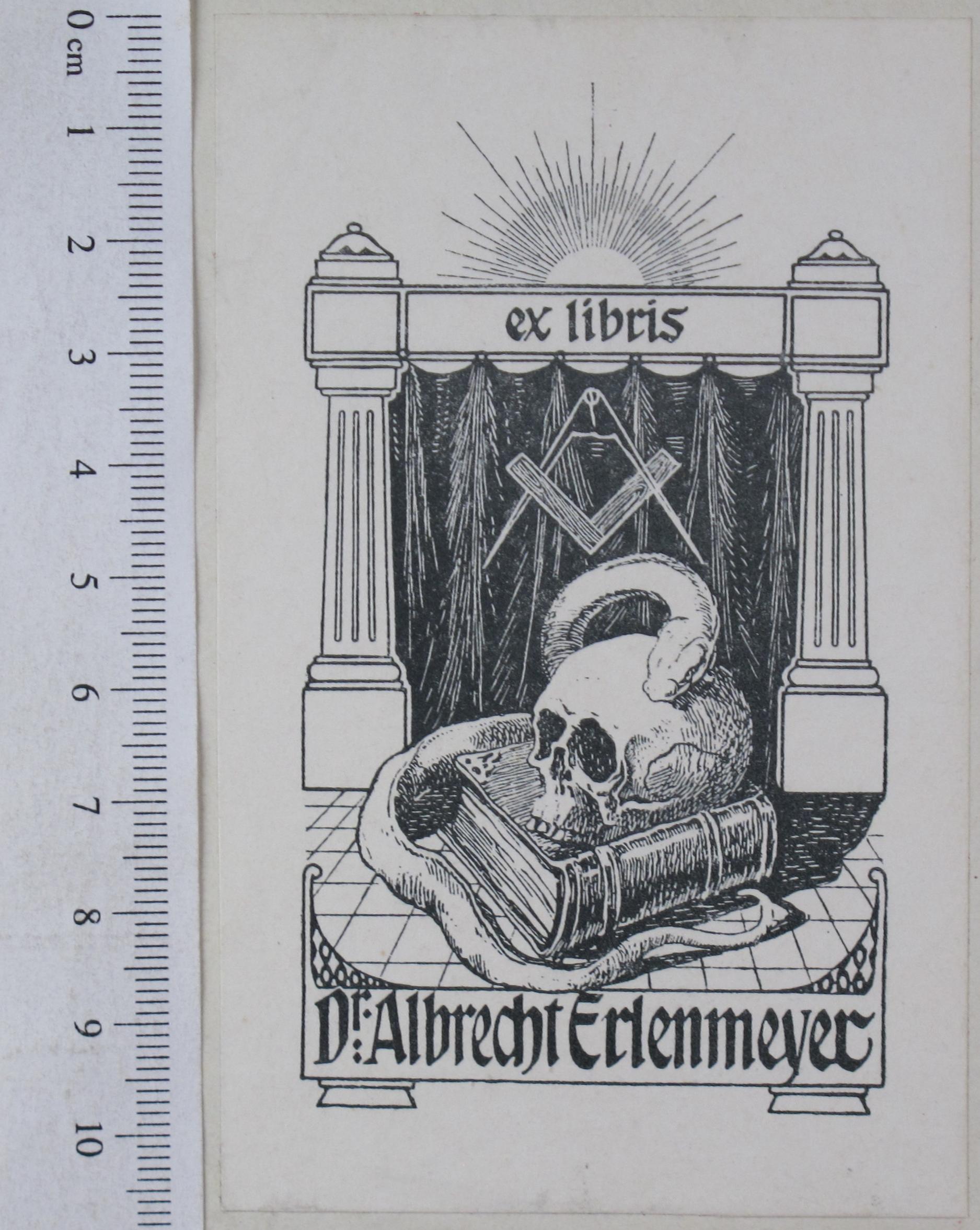 Exlibris (Photo von Thomas Rose, Staatsbibliothek zu Berlin)