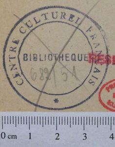 Centre Culturel Francais De Wedding Bibliotheque Provenienzwiki