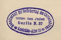 Protokoll der sitzung vom for Stempel berlin mitte